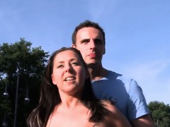 Streetflirts.com Amateur Couple Outdoor Sex