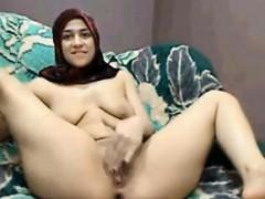 cute-arab-girl-strips-and-masturbates