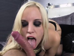 Cock Thristy Hot Blonde Chick With A Gigantic 36dd Titties