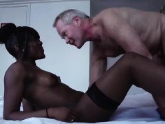 Black Hooker Sucking Cock For Cash In Interracial Blowjob