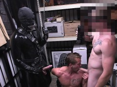 Hunk Pervert Pawnshop Owners Loves Threesome And Fucked His