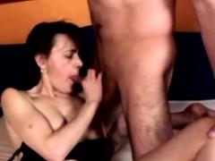 Horny Hairy Amateur Couple Fucking