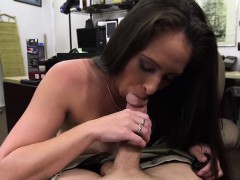 Brunette And Sexy Dominatrix Gets Fucked