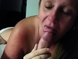 mum Joyce happy with my dick and cum