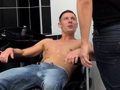 Uk Hairdresser Anally Fucks Client Before Cumshot