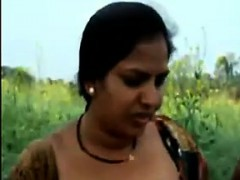 Indian Shows Off Her Privates Outdoors