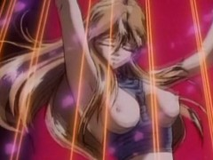 Tied Busty Hentai Gets Her Hole Pumped