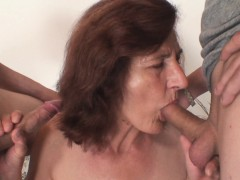 skinny-granny-swallows-two-cocks