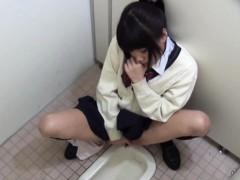 Asian Schoolgirl Rubs Box