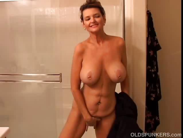 Big tits mature movie