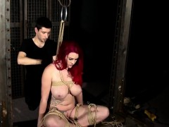 graceful fetish anal actions with latex and bdsm