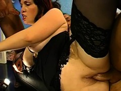 Hardcore Gang Bang With Naughty Chicks With Loads Of Jizz