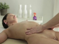 It Is Time For Lovely Lada To Get Her Weekly Massage But Her