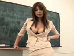 ai-kurosawa-fondles-her-tits-and-rubs-pussy-in-front-of