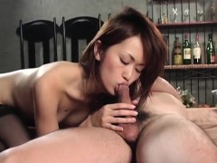 Jun Nada In Stockings And With Hot Ass Is Screwed More And