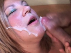 Dirty Blonde Mature Gives Bj And Takes Facial