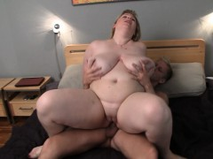 Big Tits Blonde Gets Fucked After Massage