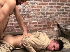 Stir Crazy And Horny Tommy Overwhelms Young Jailbird Ludo