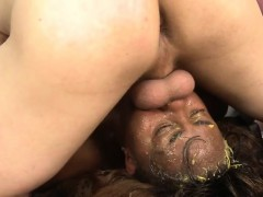 nurse-takes-big-white-cock-deep-in-her-throat