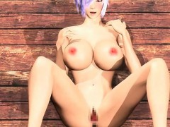 Tempting Curvy Hentai Hentai Sucks And Fucks Cock