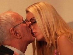 Old Perverted Man Young Girl Paul Hard Tear Up Christen