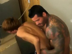 Gay Muscle Suck Swallow Porn Kyler Moss Sneaks Into The Jani