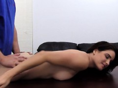 busty-brunette-auditions-on-casting-couch