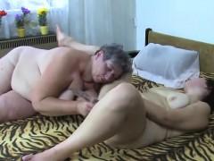 Masturbating Fat Granny Gets Company