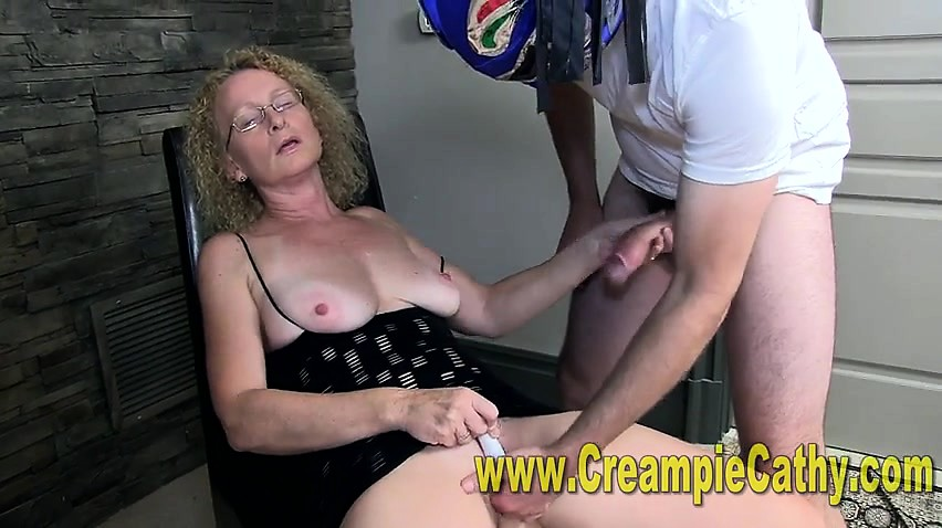 Big Dick Cream Pie Close Up