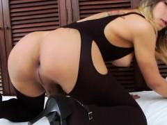 Busty Tgirl Keyce Plays And Cum In A Wild Solo Masturbation