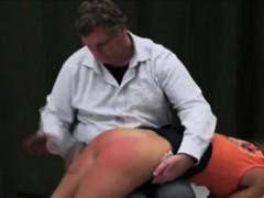 Ass Spanking Extra Hard