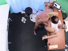 Blonde Nurse Fucked Nervous Doctor