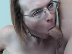 Mature Shemale Gets Titty Fucked And Jizzed