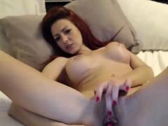 hot-redhead-milf-pussy-toying-on-webcam