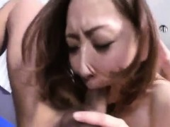 Saki Shimazu Is Roughly Fucked After Licking The Penis In