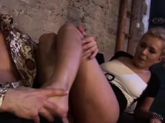 German Milf Loves Pleasing Guys With Her Sexy Feet