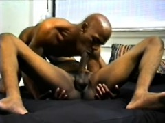 Dark Skinned Gay Lovers Suck Each Other's Dicks And Enjoy Hot Anal Sex