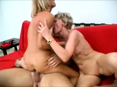 short-haired-mature-lady-enjoys-watching-her-friend-bounce-on-a-dick