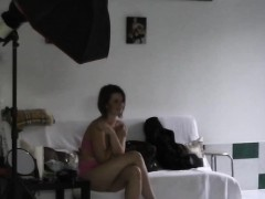 Cumshot In Backstage For Sexy Czech Chick