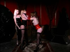a-little-bdsm-as-these-chicks-are-in-latex-and-whacking-their-slave