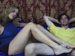 Jodi West Uses Her Perfect Feet