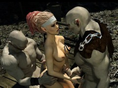 3d big titted elf destroyed by evil orcs! teensxxx.info