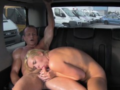 Fuckedintraffic Squirting Czech Blonde Fucks In Traffic