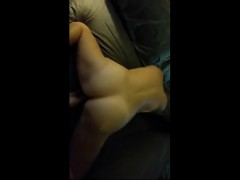 Milf That Is Spanking Face down Ass Up