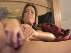 Nadia Milf Masturbation Plays With Purpl