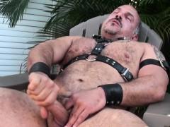 Mature Leather Bear Jay Ricci Jerks Outdoors