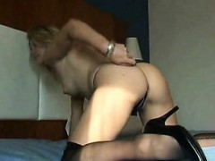 Blonde Mommy Teases And Jerks Dick Natalia