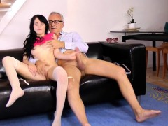 classy-babe-riding-oldmans-cock-cowgirl-style