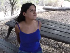 Facialized Outdoor Latina