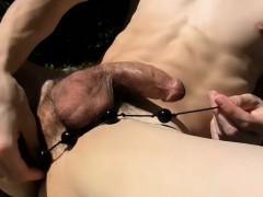 Sexy Asian Twink Daniel Tanner Pleasures Himself Outdoor